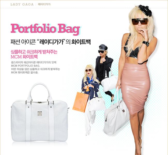 레이디 가가 Portpolio Bag